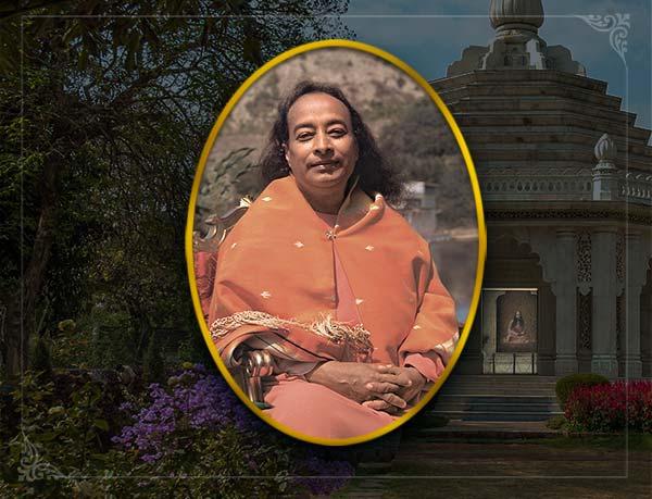 paramahansa yogananda in lake shrine