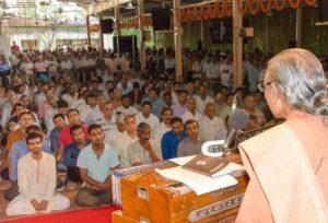 Swami Smaranananda speaks on Guru-Disciple Relationship.