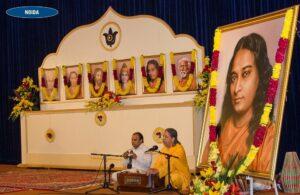 Brahmachari Vasudevananda sings bhajans and Cosmic Chants.