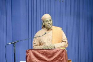 Swami Omkarananda talks on Perseverance is the Whole Magic...