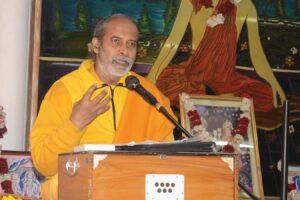 …Dehradun on Kriya Yoga: Antidote to Stress, Fear and Anxiety.