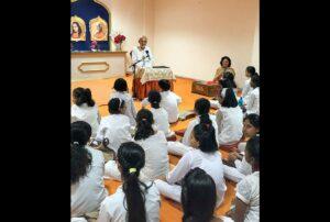 "Ambassador  K. N. Bakshi talks on ""Why and How to Meditate."""