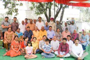 Brahmachari Gokulananda and Brahmachari Atulananda with Patiala and...