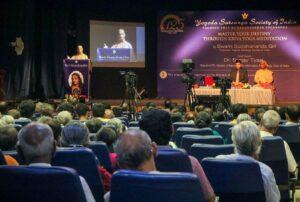 Swami Suddhananda speaks at Chennai.