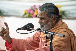 Swami Hiteshananda…