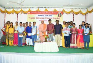 Award winning children of the educational outreach programme, Namakkal.