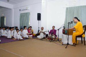 Guru Katha, stories from Guruji's life, follows.
