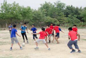 Boys enjoy football and…