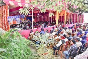Section of the devotees, Dakshineswar.