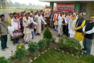 Blanket distribution, Muzzafarpur.