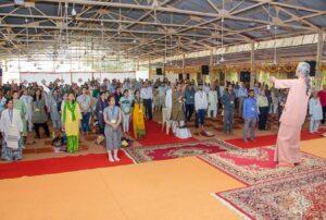 Swami Sadananda reviews the Energization Exercises.