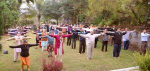 Group Energization Exercises, Pune.