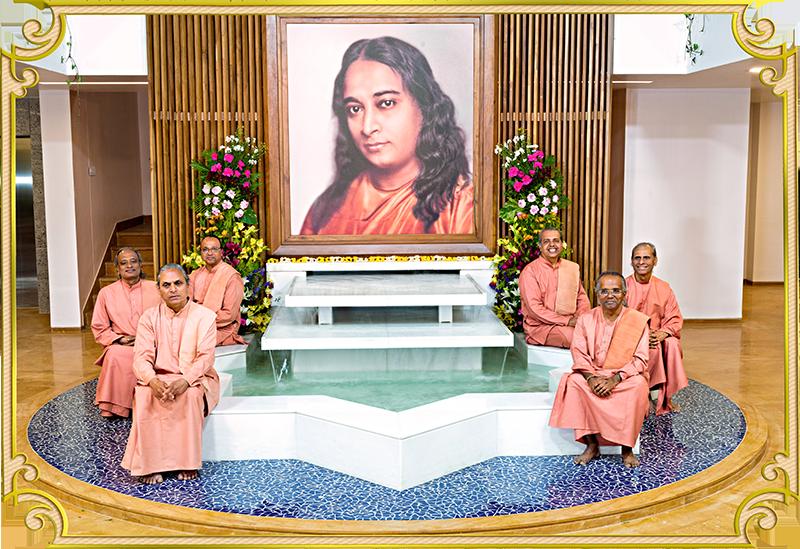 Swamis Shraddhananda, Suddhananda, Lalitananda, Smaranananda, Madhavananda and Ishwarananda