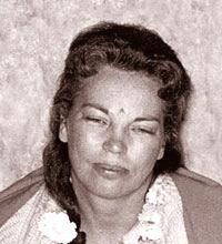 Former president of YSS Daya Mata in meditative trance
