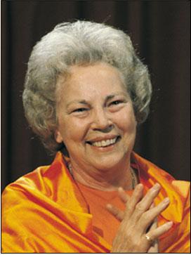 Sri Daya Mata: Third Spiritual head of YSS/SRF.