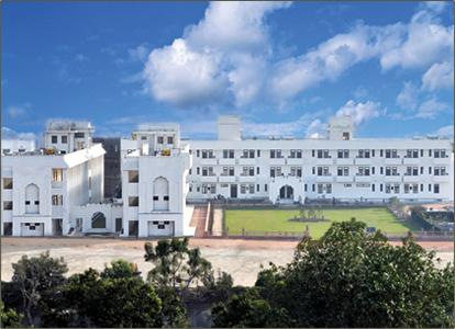 The Noida ashram of Yogoda Satsanga Society of India