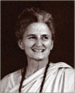 Sailasuta Mata monastic disciple of Paramahansa Yogananda