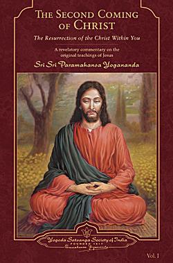 second coming christ book cover works paramahansa yogananda