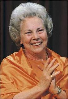 Daya Mata direct disciple of Yogananda.