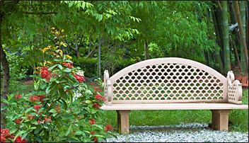 Ranchi Ashram Meditation garden