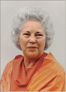 Daya Mata: Third president of YSS/SRF.