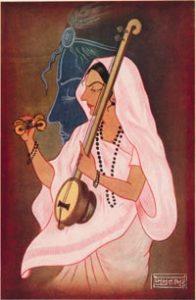 Mirabai: A Devotee of Krishna.