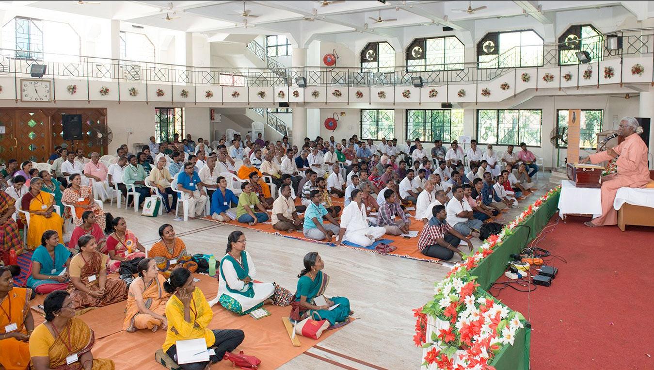 Satsanga on Yogananda's teachings.