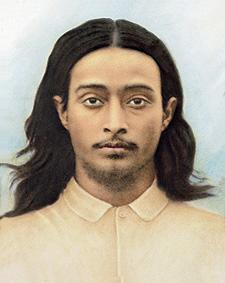 Young age photo of Paramahansa Yogananda (Spiritual Guru).