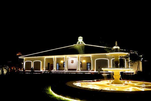 Main building of Yogoda Math, Ranchi.