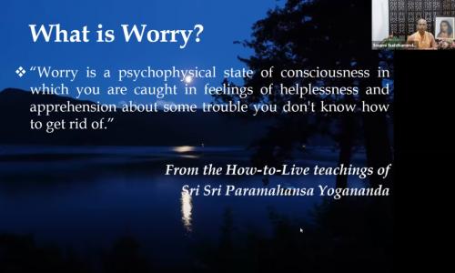 Ridding-Worries-and-Living-in-Ever-New-Joy-Swami-Suddhananda-Giri-Yogoda-Satsang-Society-YouTube1