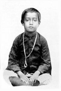 Childhood photo of Yogananda.