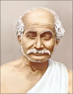 Lahiri Mahasaya great yogi guru of Swami Sri Yukteswar