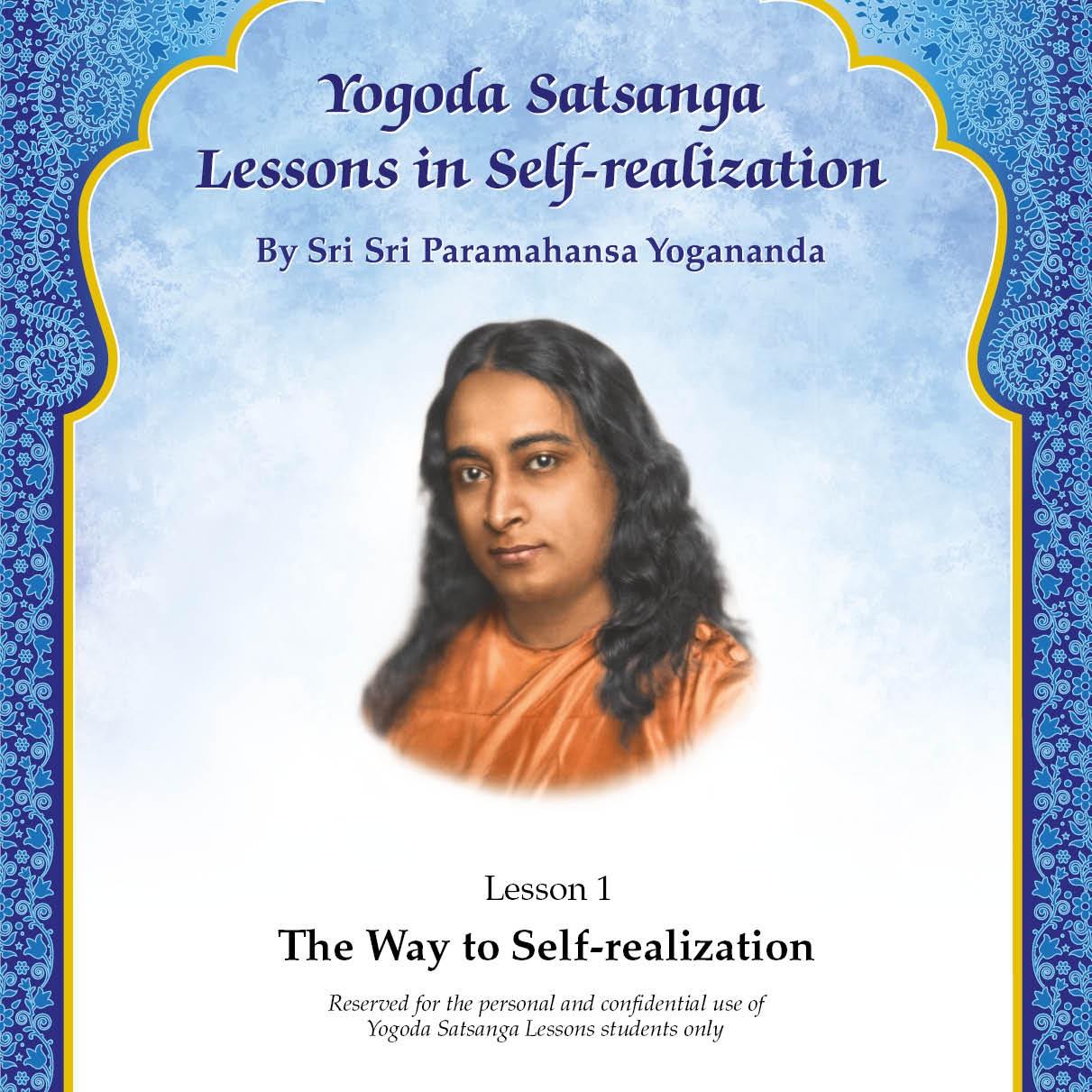 Lesson in Self-realization